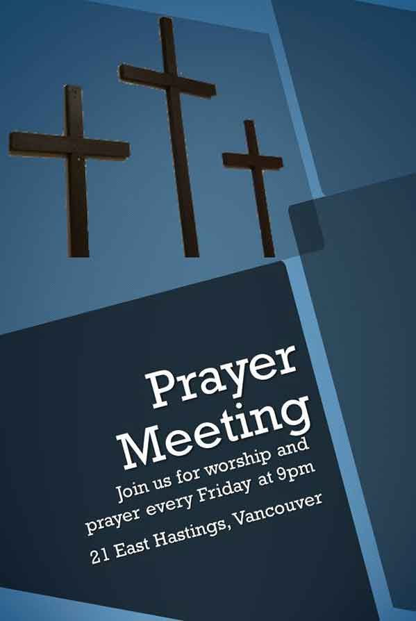 Join us for Prayer and Worship